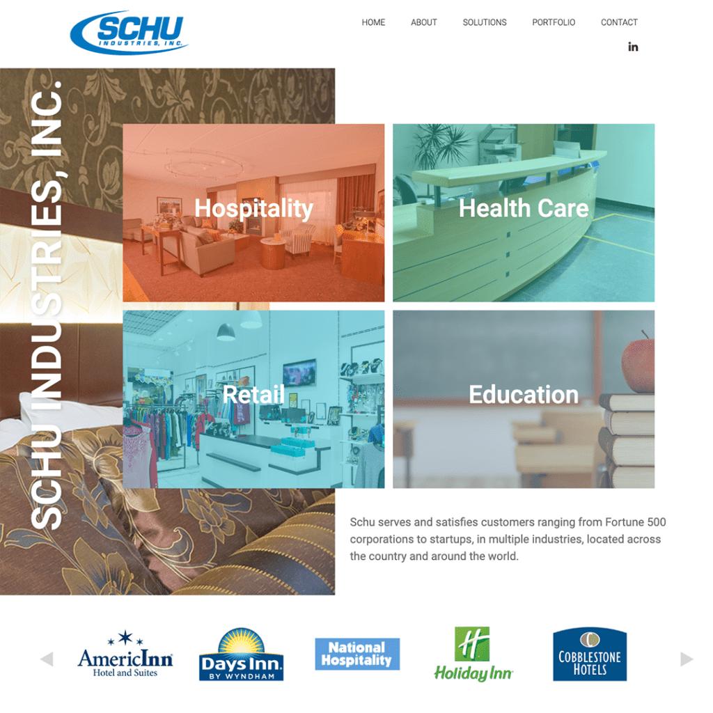 Schu Industries Website